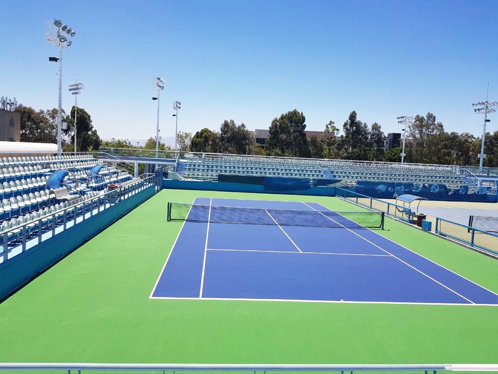 pintura cancha de tenis