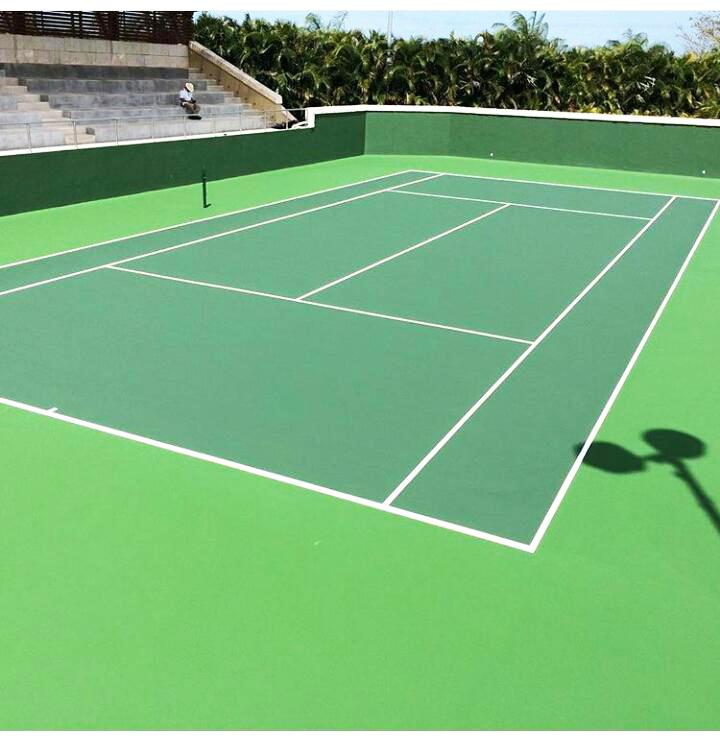 Construccion de canchas de tenis
