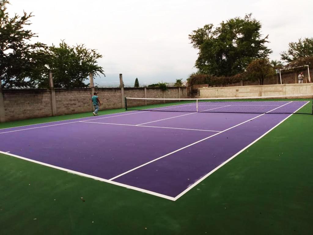 pintura para cancha de tenis MEXICO