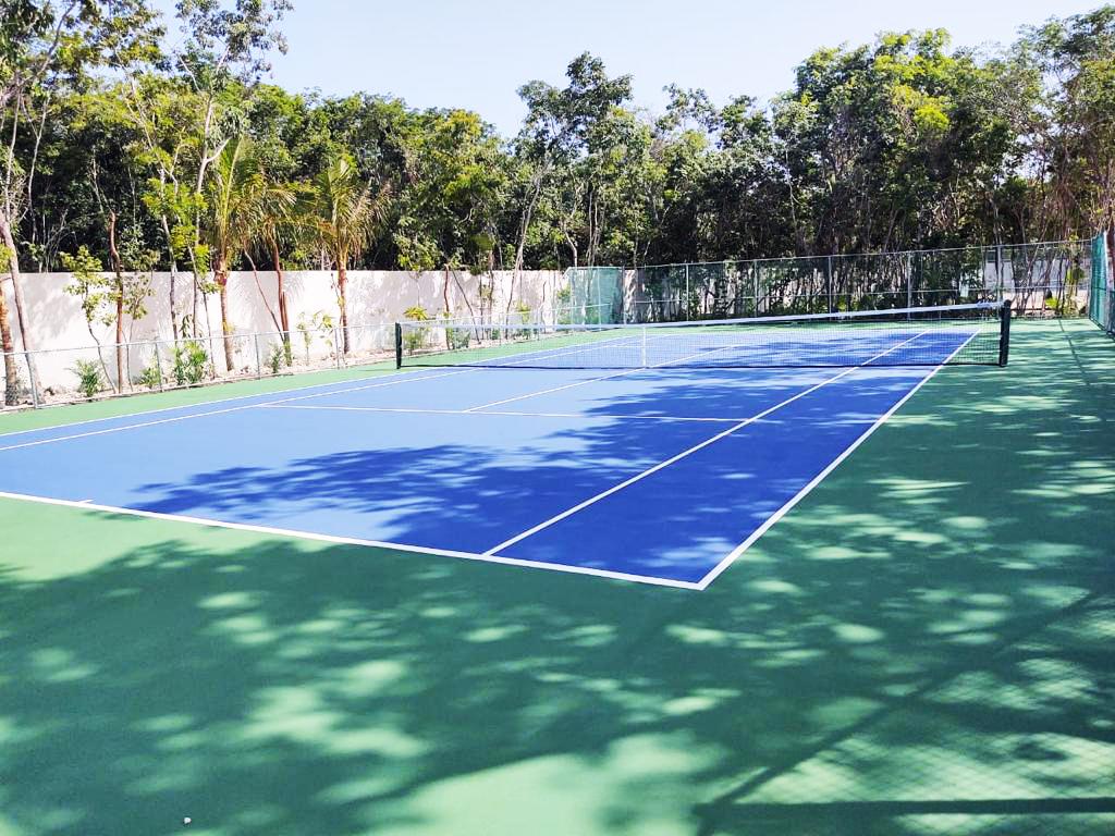 pintura para cancha de tenis costo